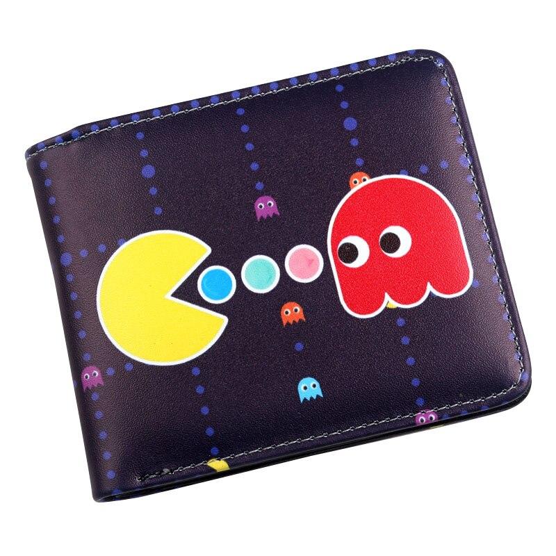 Gepäck & Taschen Pacman Bi-fold Wallet Herren Studenten Jungen Gaming Geek Retro Pac-mann FöRderung Der Produktion Von KöRperflüSsigkeit Und Speichel Geldbeutel