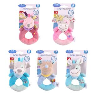 baby plush toy ring bell baby