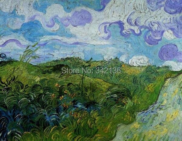 Moderne canvas beroemde kunstenaar olieverf van gogh wall art voor