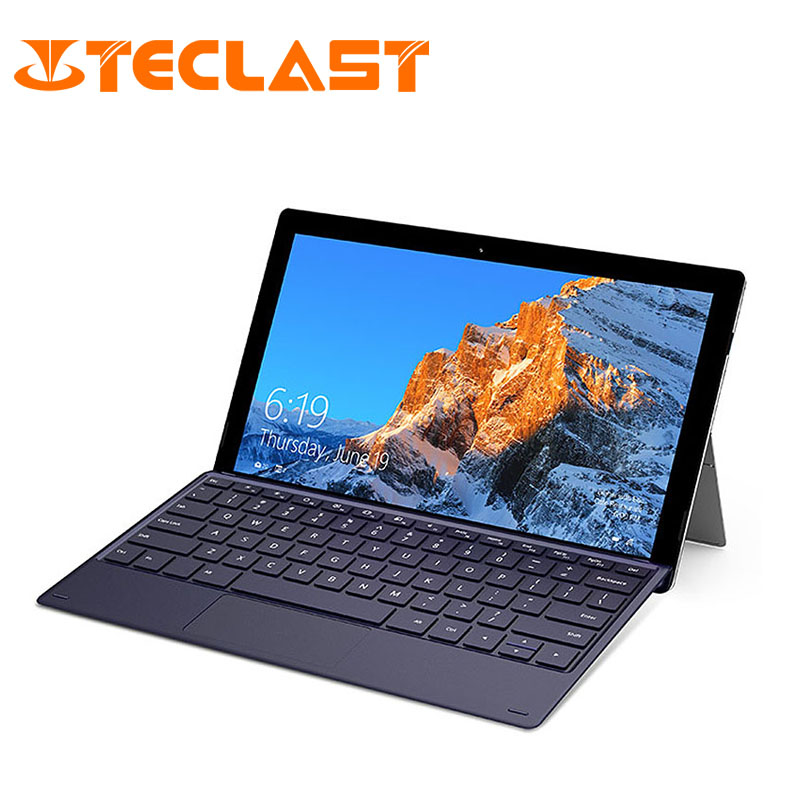 Teclast X4 2 Em 1 Laptop Tablet 11.6 Janelas Celeron 10 Polegada N4100 8GB de RAM Quad Core 1.10GHz 256GB SSD HDMI Com Teclado Tablet