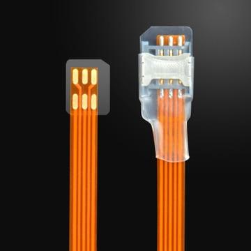 2015 Sale micro Sim Card Adapter Single Standby Flex Cable Ribbon SIM Card reader Free Shipping Аппаратный порт