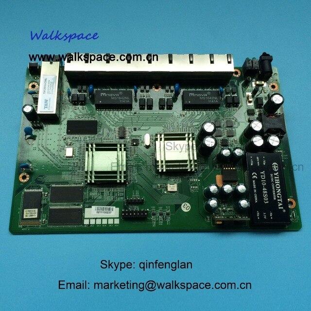 ПЕЧАТНОЙ платы PD с 8 порты ethernet, обратный POE оптической сети EPON ONU, 8 порта карты PCB