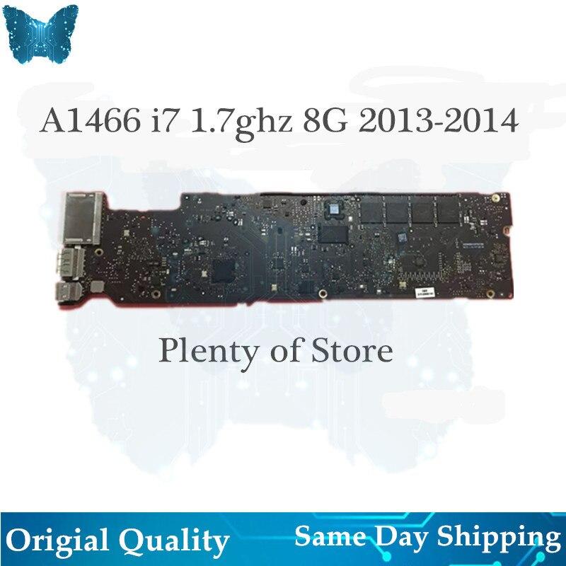 Carte mère originale en gros A1466 carte mère pour Macbook Air 13 'carte mère 1.7 ghz i7 8G 2013-2014 820-3437-B