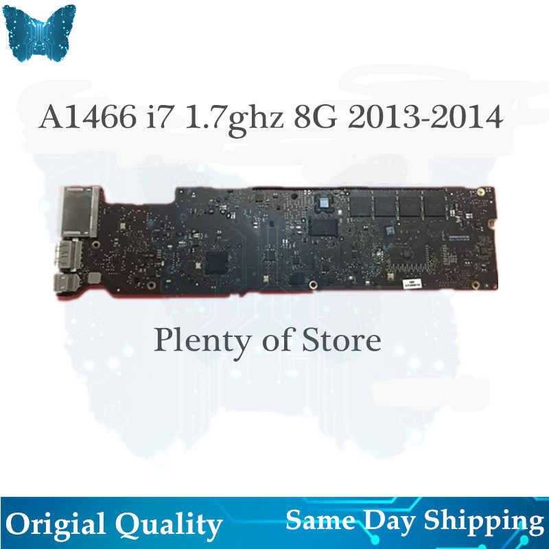 En gros D'origine A1466 Carte Mère pour Macbook Air 13' logicboard 1.7 ghz i7 8G 2013-2014 820-3437-B