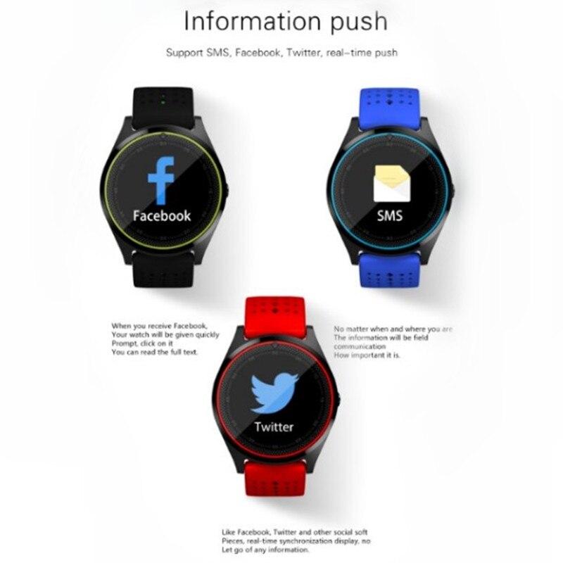 Adroit Wishdoit New Men Smart Sport Watch Women Led Clock Blood Pressure Heart Rate Monitor Fitness Pedometer Bluetooth Smart Bracelet Men's Watches