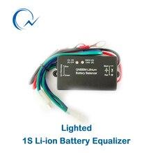 1S активный аккумулятор балансировочный эквалайзер Одиночная ячейка Li-Ion LiFePO4 LTO NCM полимерный 18650 DIY активный BMS аккумулятор балансировщик со светодиодом