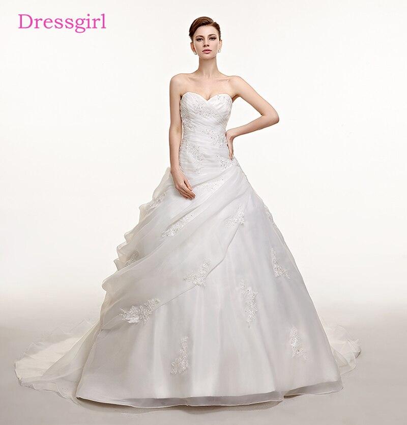 Hot Sale Plus Size Vestido De Noiva 2018 Wedding Dresses Ball Gown