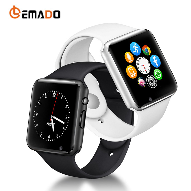 LEMADO A1 Smart Watches Bluetooth Sport Bracelet for Men With SIM Smartwatch Camera Sleep Monitoring for Android Russia T15
