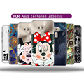 Carcasa For Asus ZenFone 3 ZE552KL Case Para TPU Silicone Cartoon Back Cover Coque Accessory Protection Capa Phone Bag Cases