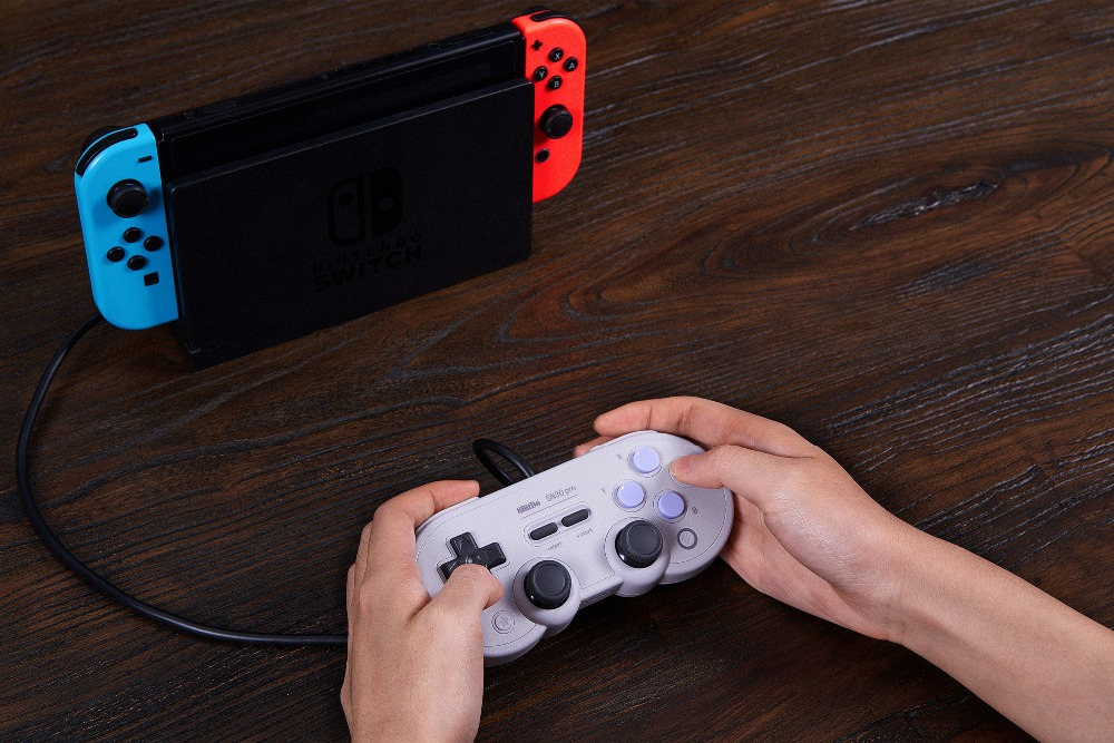 Official 8BitDo Wired SN30 Pro USB Gamepad for Nintendo Switch Windows Raspberry Pi SN Edition 11