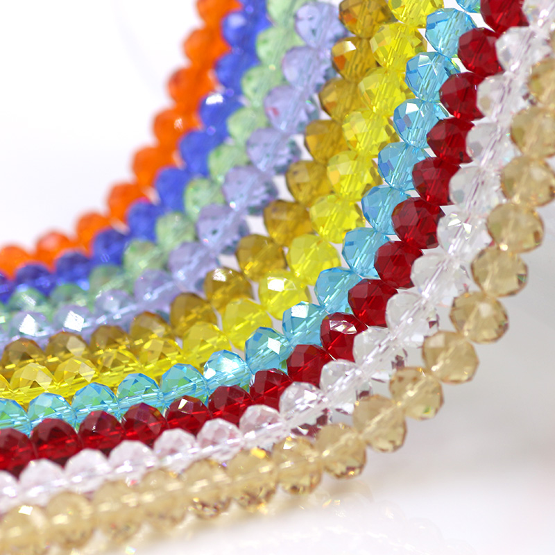 Chinese Jewelry Beading 12MM Plastic Flat Beads (70PCS/LOT) Crystal Rondelle Lampwork Glass Beads Wholesale DIY Curtain Design