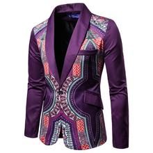 Show Dress Mens Blazers Floral Designs And Suit Jackets Casual Printing Men Blazer Slim Suits Tuxedos fit