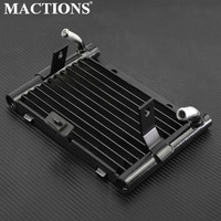 Motorcycle Oil Cooler Radiator Water Cooling Replacement For Harley Touring Road King Special FLHRXS FLHR FLHTCU FLHXS 2017 2018