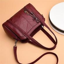 Women's Fashion Shoulder Bag – Ladies Messenger Bag – Retro PU Leather Handbag