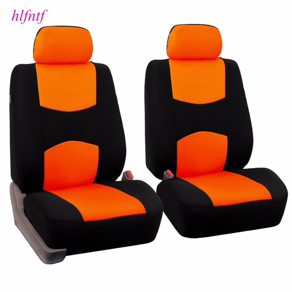 Embroidery logo font b Car b font Seat Cover Front Rear complete 5 Seat For Hyundai