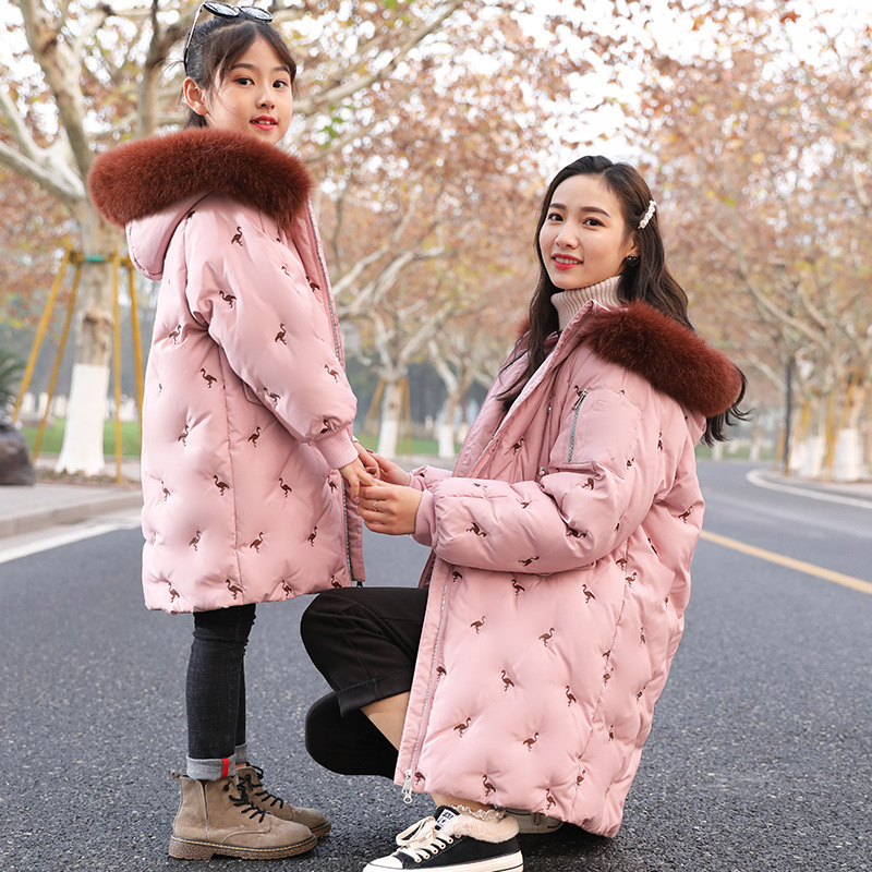 Girls Winter Coats Snowsuit Family Matching Clothes Mother Daughter Dresses Parent Child Outfits Jacket Kids Winter ClothingGirls Winter Coats Snowsuit Family Matching Clothes Mother Daughter Dresses Parent Child Outfits Jacket Kids Winter Clothing