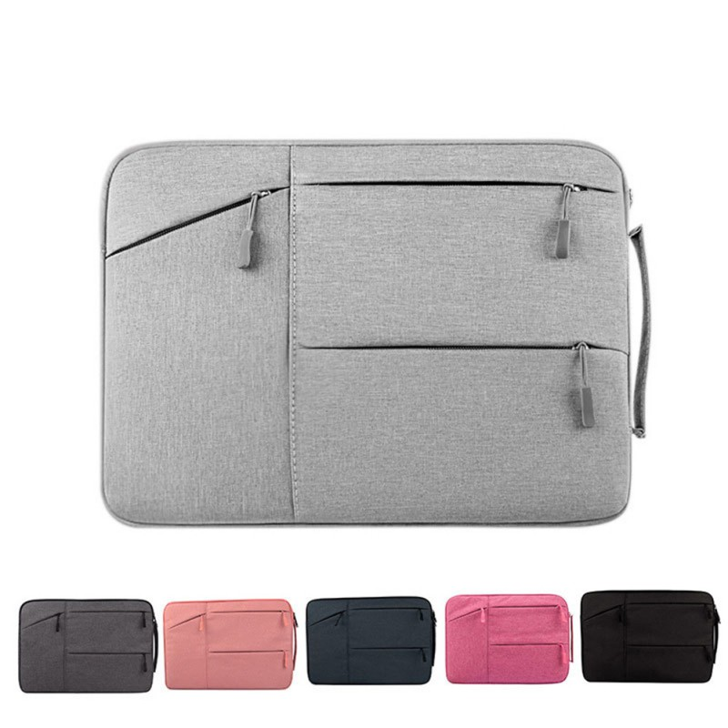 Waterproof Laptop Bag Case For MacBook Pro 13 15 For Xiaomi Notebook Air 13 Shockproof Nylon Laptop Sleeve 12/14/16 Inch