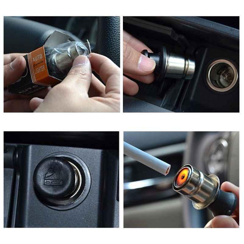 12 V Universele Auto Sigarettenaansteker Stopcontact Plug Heater Punt Cigarete