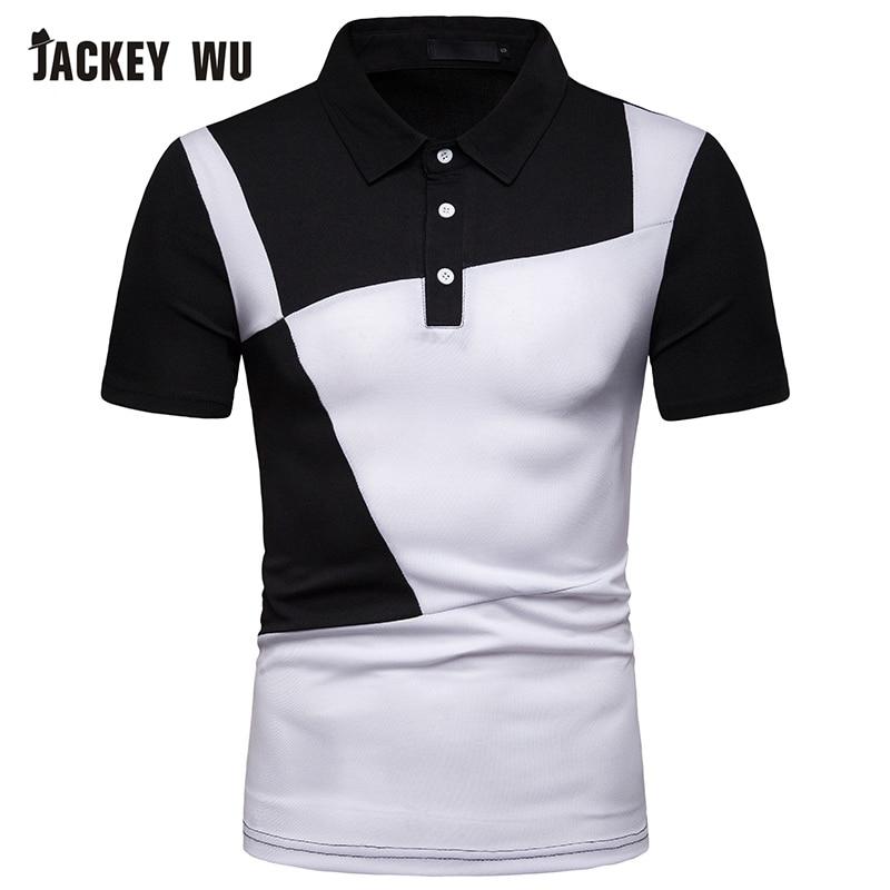 Analytisch Jackeywu Polo Shirt Männer 2019 Sommer Mode Kontrast Farbe Halben Hülse T-stücke Baumwolle Atmungsaktiv Camisa Polo Elastische Beiläufige Polos Mutter & Kinder