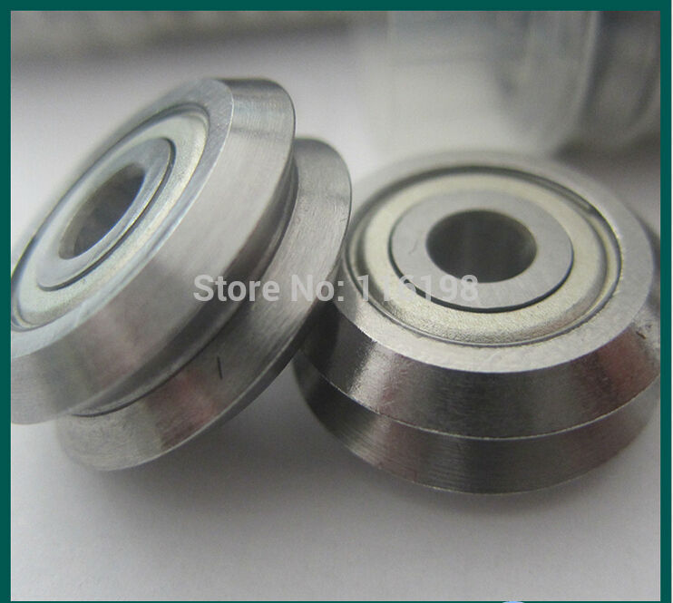 1pcs W4ZZ track roller bearing 15mm Bore RM4-2ZZ W4-2Z V Groove Guide Bearings 15x59.94x19.05mm mochu 22213 22213ca 22213ca w33 65x120x31 53513 53513hk spherical roller bearings self aligning cylindrical bore