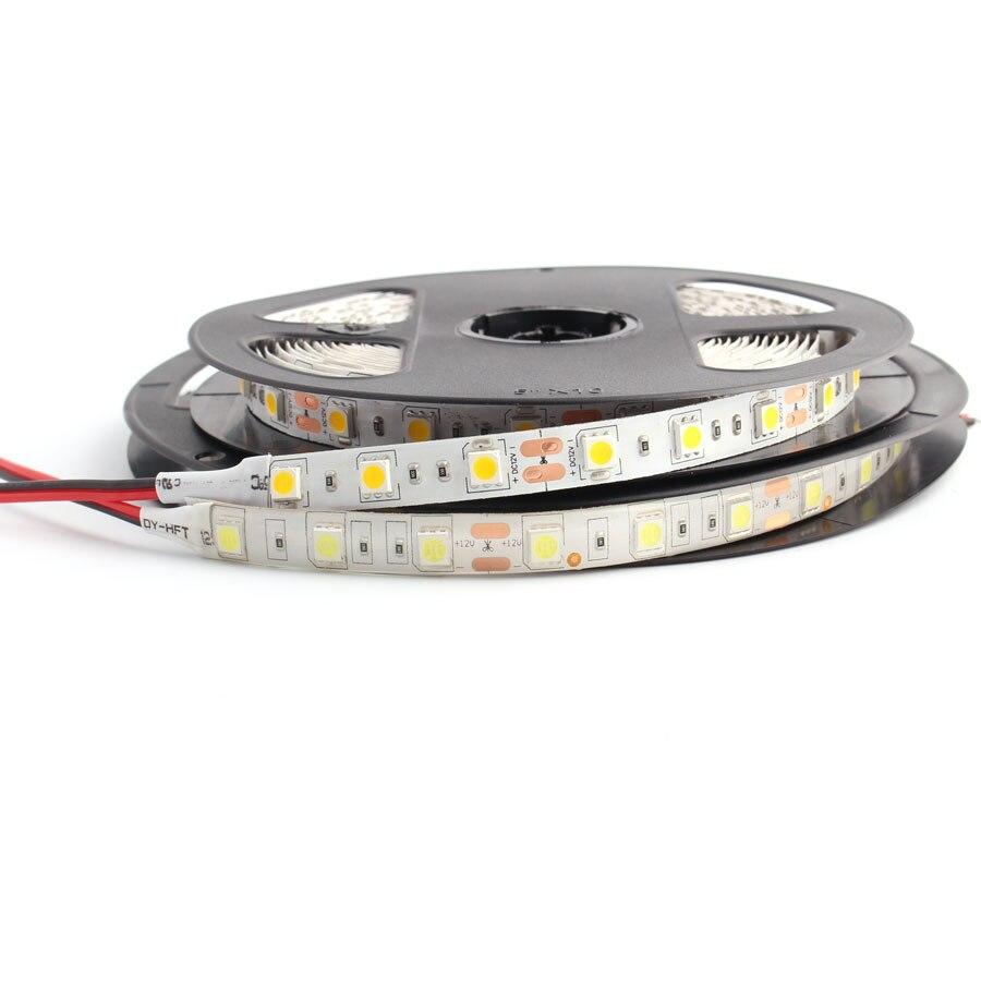 DC 12V RGB LED Light Not Waterproof 60leds/m 5050 RGB 1M 5M RGB Led Strip Lights Diode Ribbon Flexible Light TV Backlight