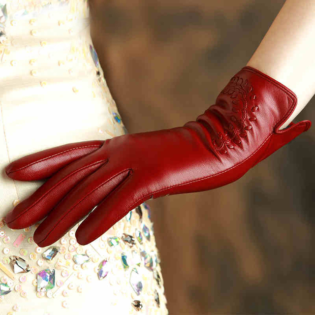 Excellent Genuine Leather Women's Gloves