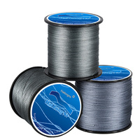 500M PE Braided Fishing Line 4 Strands Braid Wires Line Rally Test 8 To 100LB Super