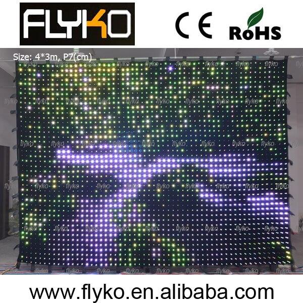 P7cm pc mode настенное светодиодное украшение контроллер ПК управление компьютером