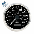 Universal 85mm Car Truck GPS Speedometer 200MPH 300KMH Stainless Steel bezel Waterproof Digital Gauges