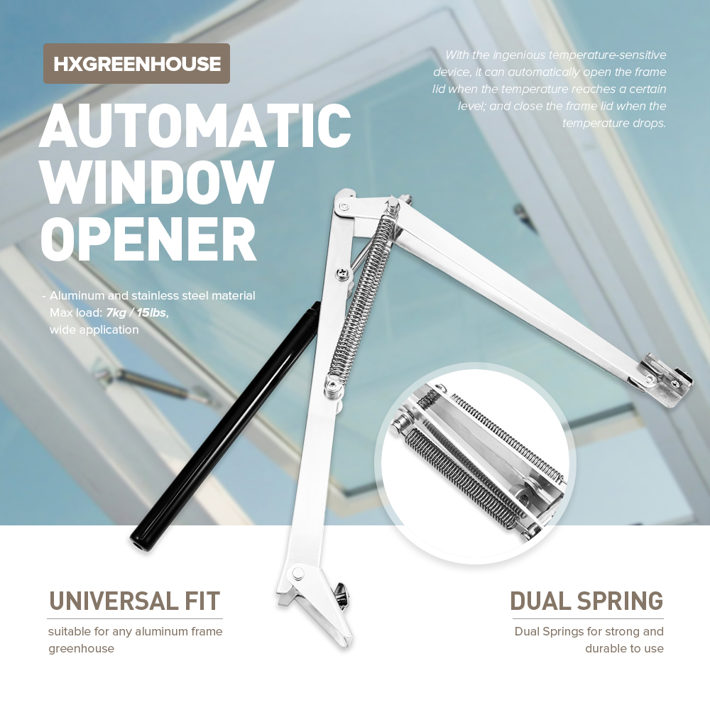 Window Window Opener Cylinder Automatic Greenhouse Adjustable Auto Kit Spring