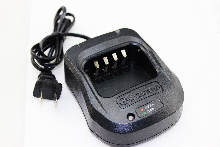 bilder für Oppxun original wouxun walkie talkie radio ladegerät 100 v ~ 240 v für kg-uv8d zweiwegradio kg uv8d transceiver neue