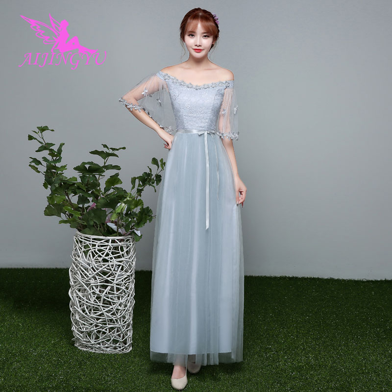 AIJINGYU 2018 girl sexy   bridesmaid     dresses   elegant   dress   for wedding party BN559