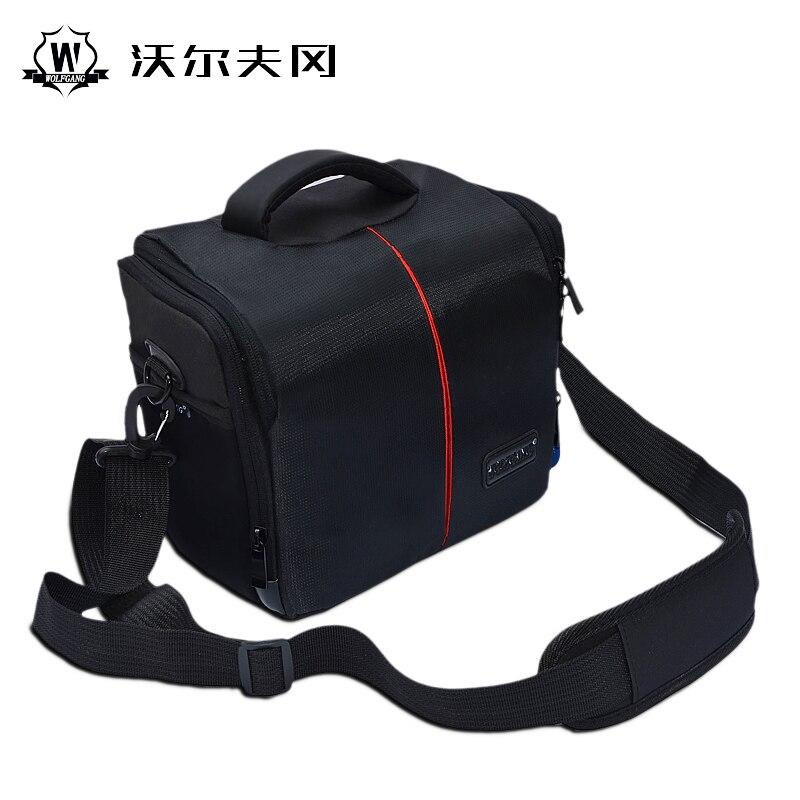 WOLFGANG Camera Backpack High Capacity Portable Waterproof Bag DSLR Package Multi-functional Bag for Nikon Canon