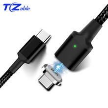 USB C Cable 5A Magnetic Type Data Line Fast Charging Adapter Type-C Extension Cord For Samsung Huawei Phone Computer