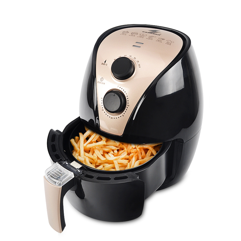 Intelligent Automatic Air Fryer Chicken Baker Household Chips Nuggets Mozzarella Stick Maker Oven Carbon Steel Material