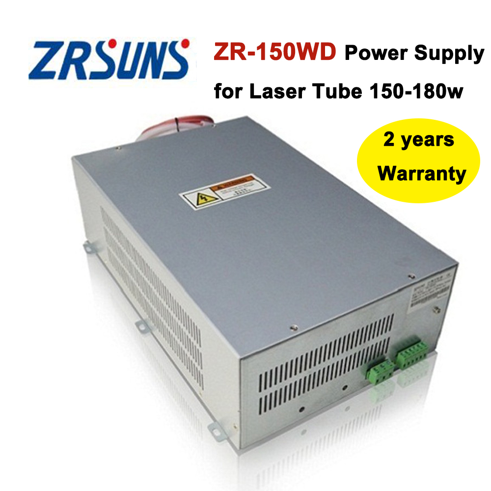 150W ZR-150WD Co2 Laser Power Supply for 150W-180W Co2 Laser Engraving and Cutting Machine stabilivolt 150w co2 laser power supply 220v co2 laser power source for co2 laser engraving and cutting machine