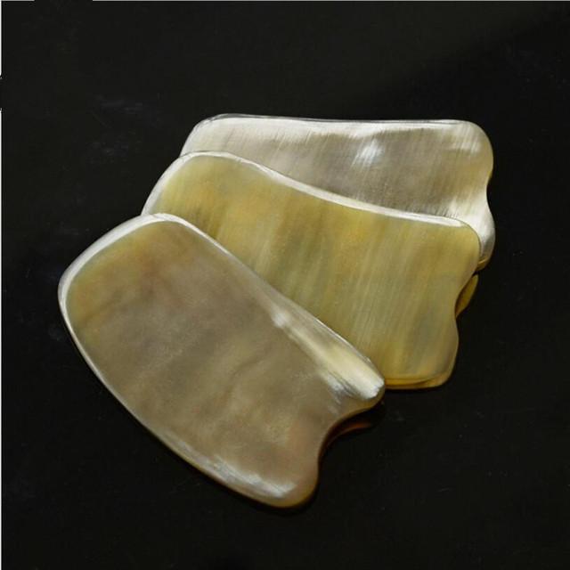 Natural Yak Horn Gua Sha Massage Tool