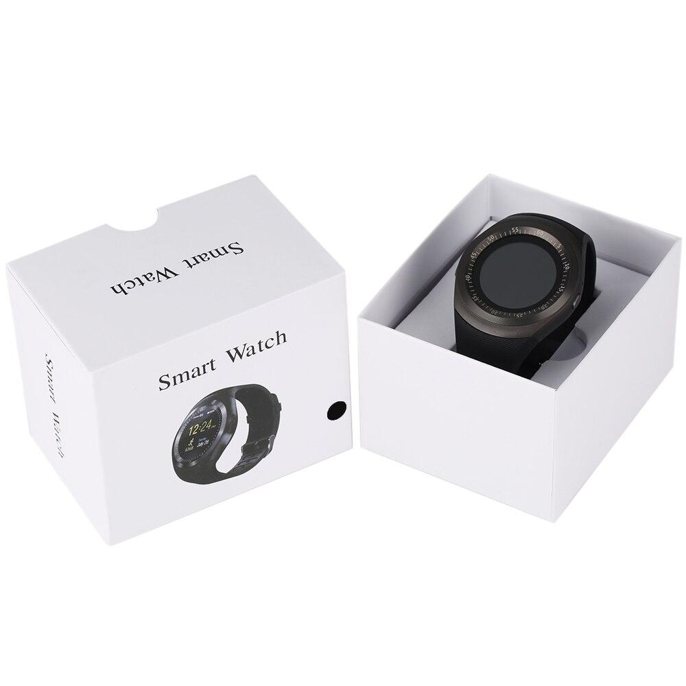 Smart Watch Bluetooth Dialer Call Reminder Wristwatch MP3/MP4 Music SIM Card LCD Touch Screen Rubber Band For Men Women Children