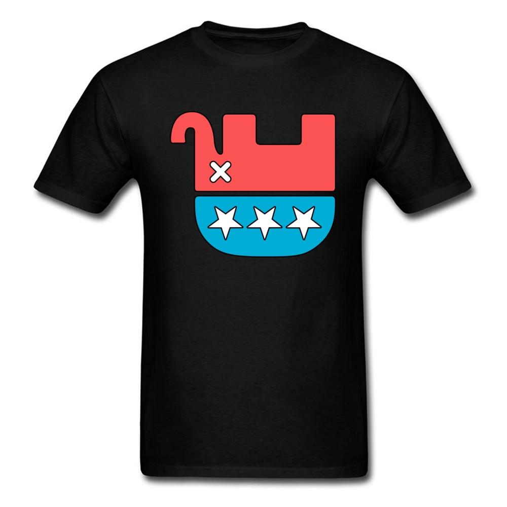 Dead мытарь футболка сарказм дизайнерские футболки Для мужчин Американский футболки мультфильм с принтом слона топы хлопок черный футболка ...