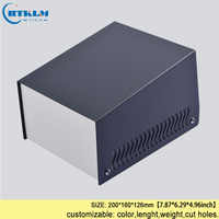 Iron project box IDY enclosures for electronics junction box iron power supply enclosure instrument case 200*160*126mm