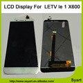 1 pcs Ouro Branco display LCD + de tela de toque digitador de vidro montagem 1920x1080 Tela lcd de Substituição Para Letv Le 1 um X600