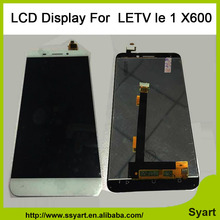 1pcs White Gold LCD display screen + touch digitizer glass assembly 1920×1080 Replacement Screen lcd For Letv Le 1 one X600