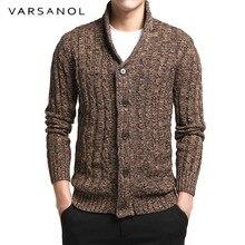 Varsnaol брендовый свитер для мужчин, v-образный вырез, однотонный, облегающий, вязанный, мужские свитера, кардиган, мужской,, осенняя мода, повседневные топы, Hots