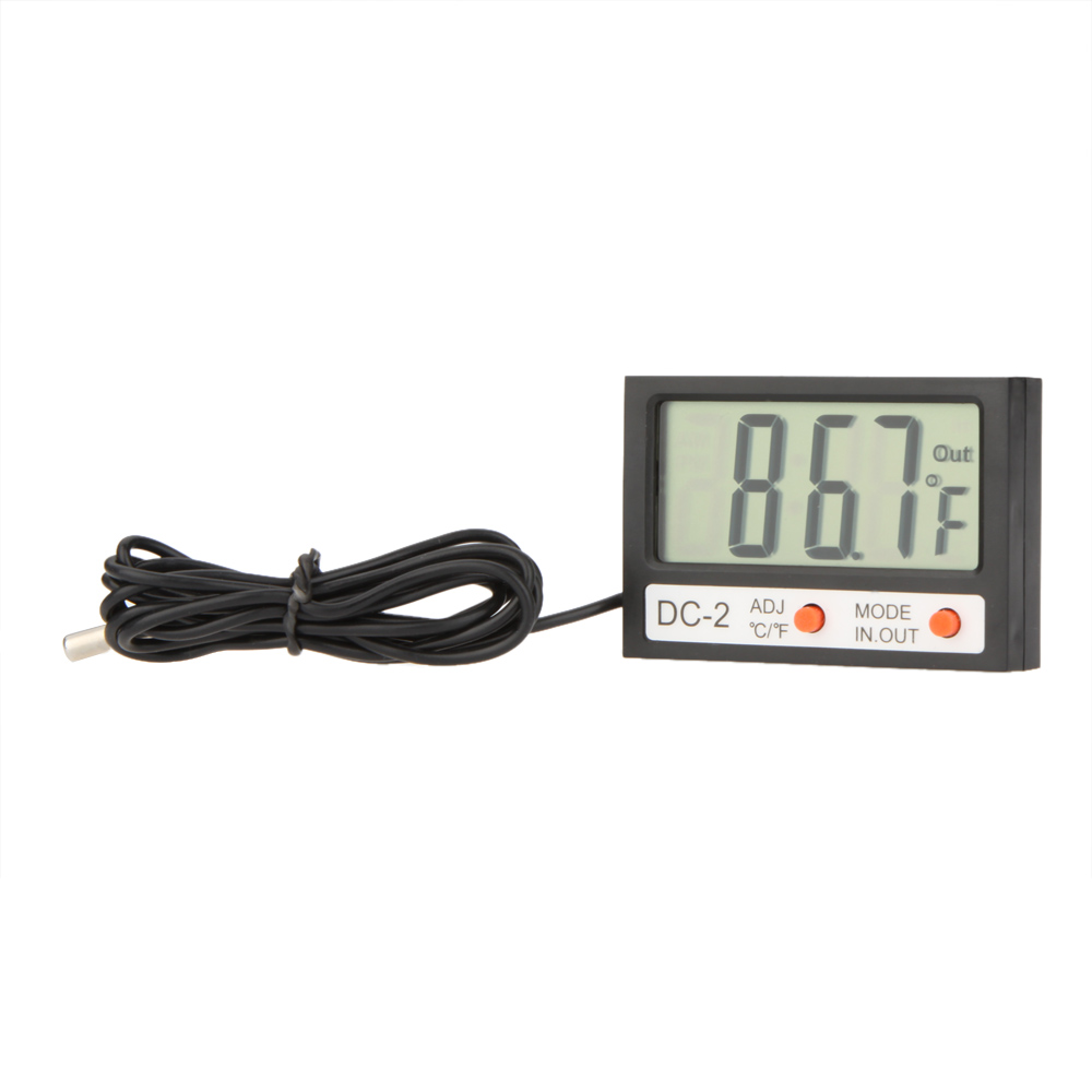 Temperature Gauges Home & Garden 63mm Dial Horizontal Thermometer Aluminum Temperature Gauge Meter Liquid Water Household Thermometers Diversified Latest Designs