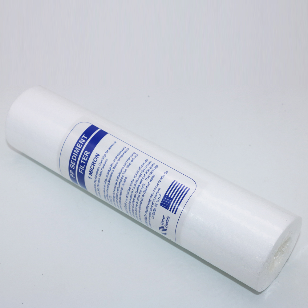 1pcs 10-Inch 1 Micron PP Cotton Filter Sediment For Water Purifier Filter & Water Machine