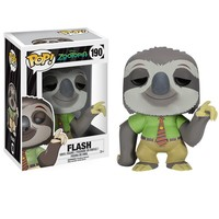 Funko Pop movie nick wilde zootopia figurines toys Flash Juddy Hoppps Mr Big Finnick figura de vinil Vinyl figure