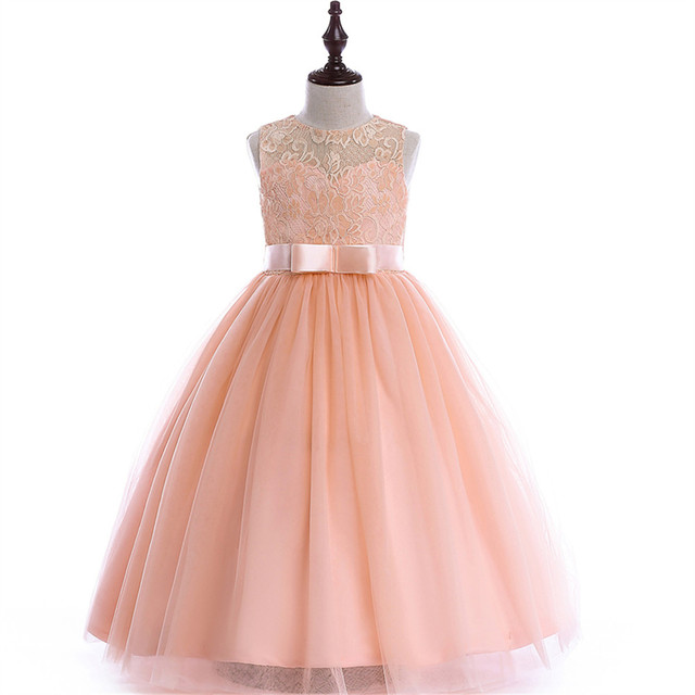 385953e353 Kids Girls Flower Dress Baby Girl Butterfly Birthday Party Dresses Children  Fancy Princess Ball Gown Wedding Clothes
