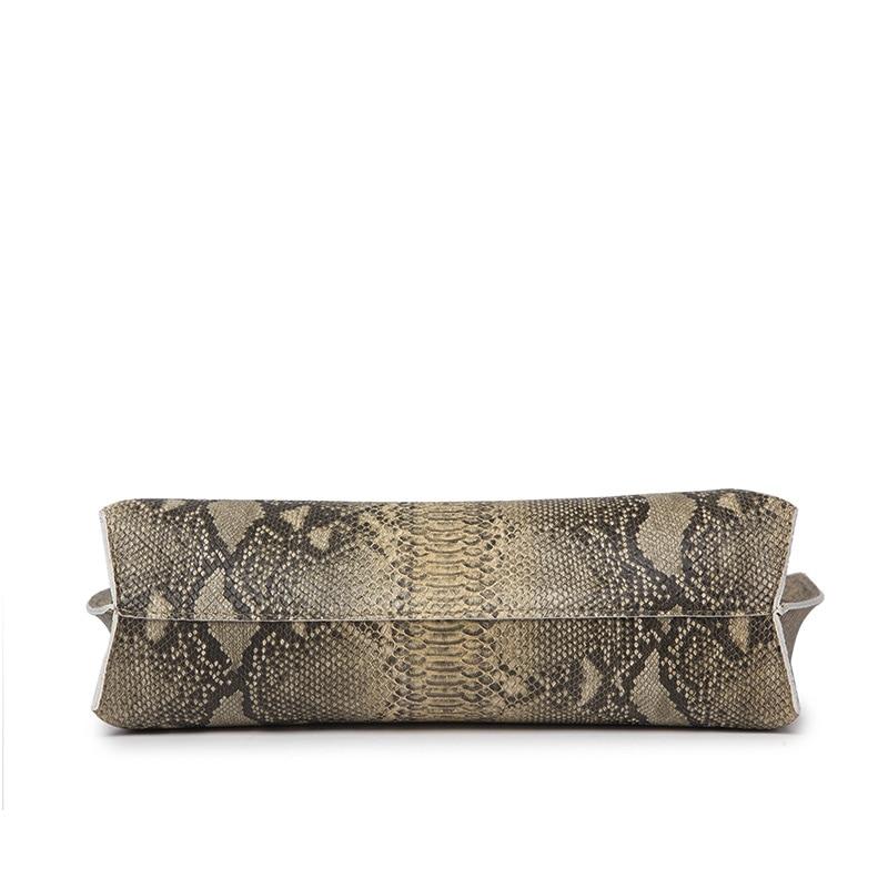 Ankareeda Luxury Brand Serpentine Women's Soft Leather Handbag High Quality Women Shoulder Bag Fashion Tassel Women's Handbags 4