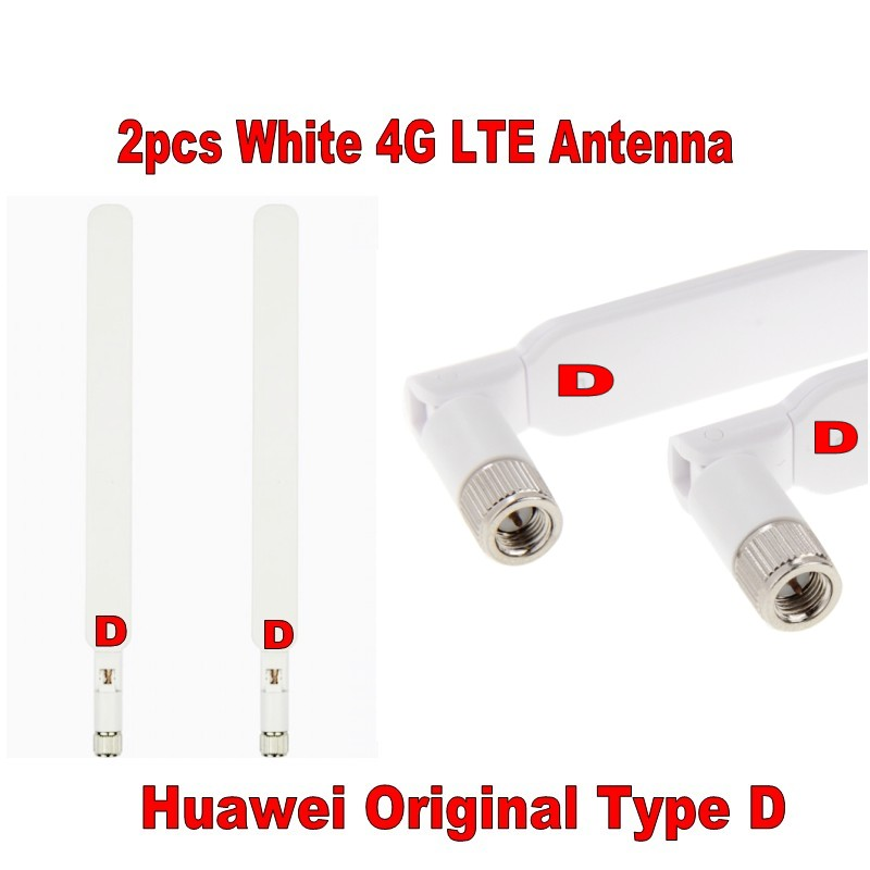 GENUINES Huawei B525 B593 B315 B310 white Antenna pair 2X External Antenna Original Type D (Router/modem not included) ...