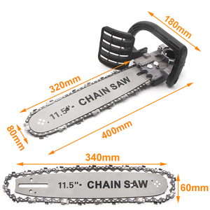 Image 4 - BDCAT Upgrade Electric Saw Parts 11.5 Inch M10 Chainsaw Bracket Changed 100 125 150 Angle Grinder Into Chain Saw